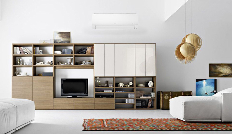 Plain Bookcase For Small Rooms
